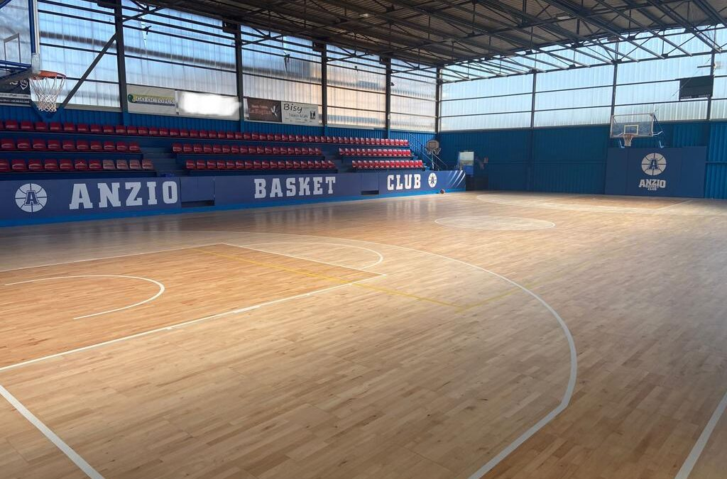 Home of Anzio Basket Club