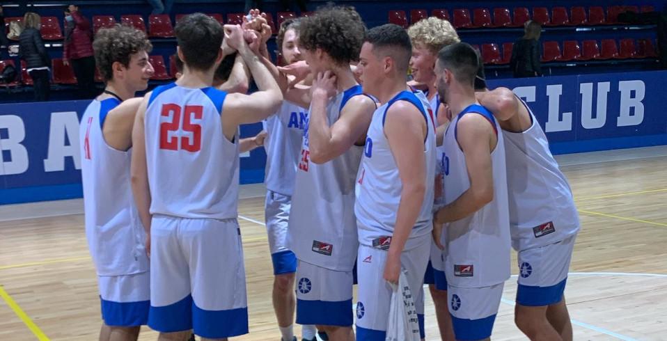 U20 non fa sconti, travolto l'Elite Basket Roma